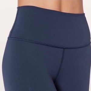 lululemon athletica Pants - NWOT Lululemon Wunder Under Leggings Pants 4 Navy